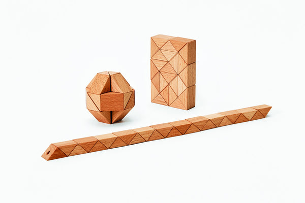 Snake Block™ - Medium Natural