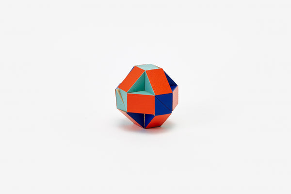 Snake Block™ - Small Red/Blue