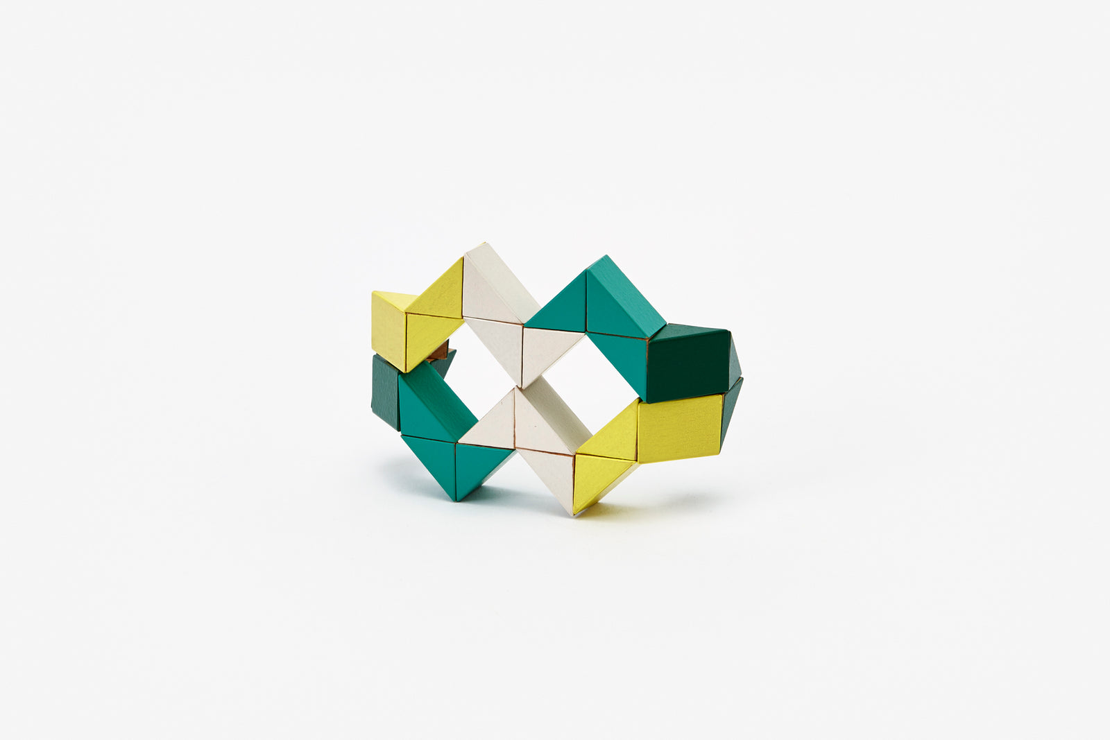 Snake Block™ - Small Yellow/Green