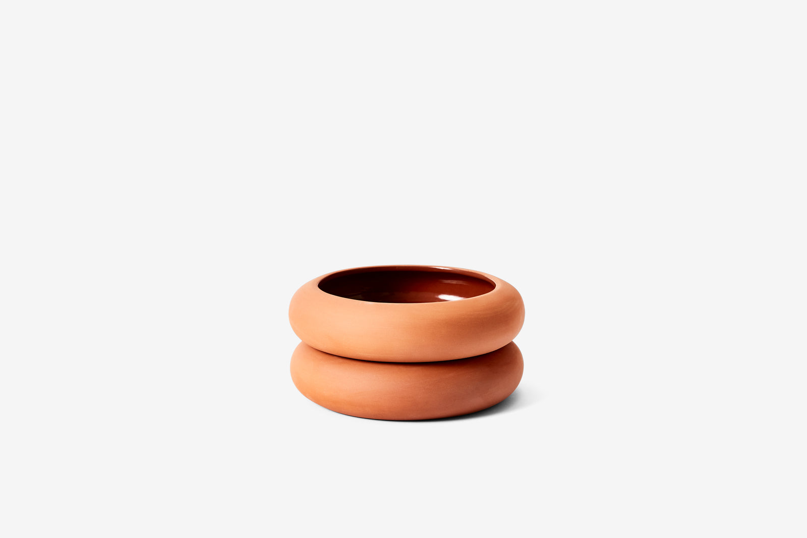 Stacking Planter - Terracotta Short