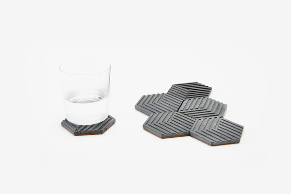 Table Tiles - Concrete - Grey