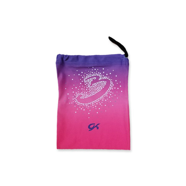 BRATAYLEY PINK/PURPLE SMALL DRAWSTRING BAG