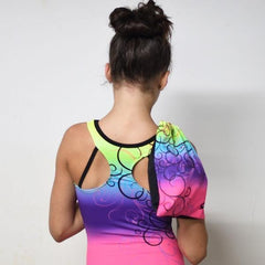 BRATAYLEY RAINBOW LEOTARD