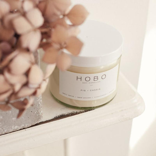 HOBO Soy Candle - Fig + Cassis