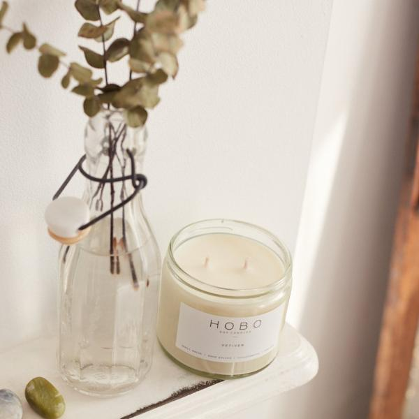 Hobo soy candle - Vetiver