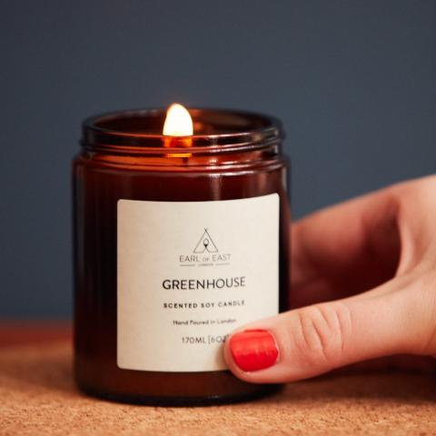 Earl of East Soy Candle - Greenhouse