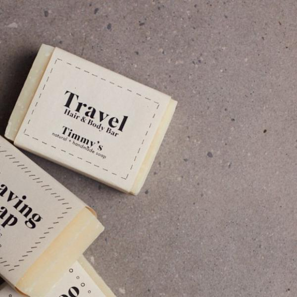Travel soap