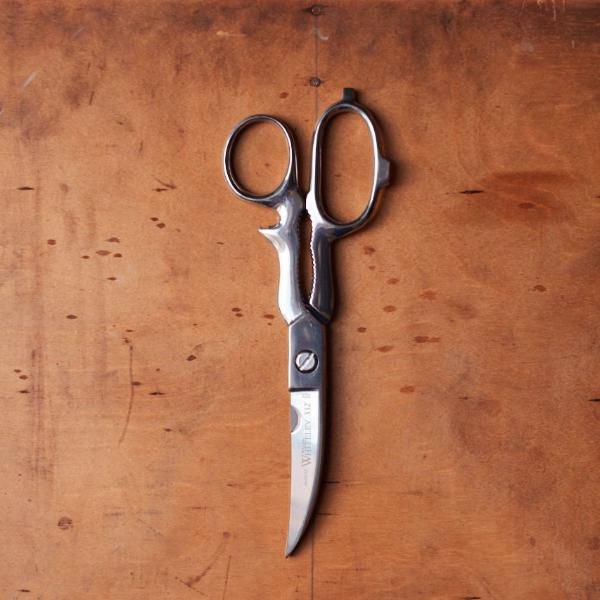 Stainless steel kitchen scissors