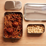 Stainless steel rectangle tin