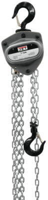 L-100-100-15, 1-Ton Hand Chain Hoist With 15' Lift
