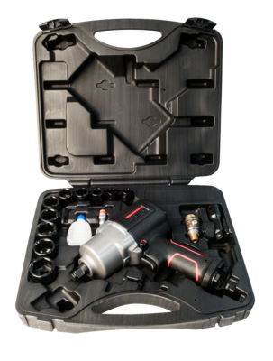 "JAT-121K, 1/2"" Impact Wrench Kit"