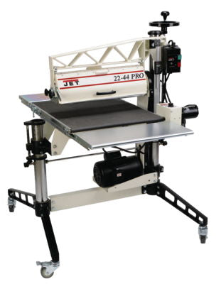 22-44 Pro 3HP, 1Ph, DRO, Tables and Casters