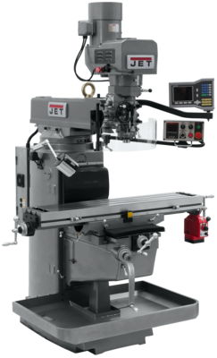 JTM-1050EVS2/230 Mill With Acu-Rite VUE DRO With X-Axis Powerfeed