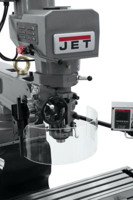 JTM-1050EVS2/230 Mill With Acu-Rite VUE DRO With X, Y and Z-Axis Powerfeeds