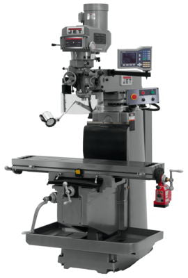 JTM-1254RVS with ACU-RITE VUE DRO, X Powerfeed