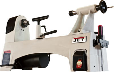 JWL-1221SP 12'' x 21'' 6 Speed, Step Pulley Wood Lathe