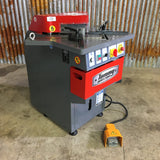 "Sheet Metal Corner Notcher SNF6GA 0.16"" or 4 mm capacity."