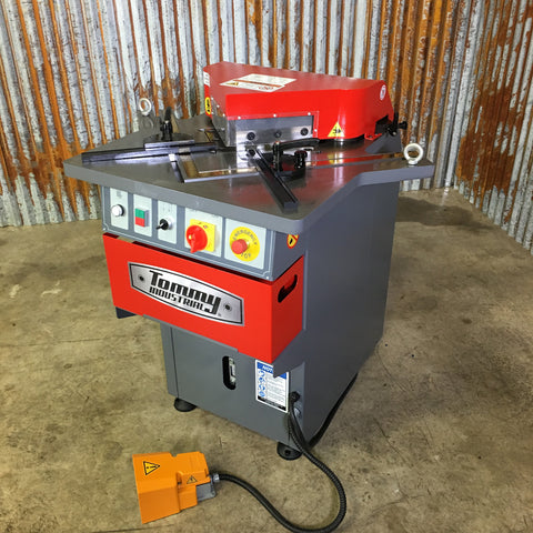 "Sheet Metal Corner Notcher SNF3GA 0.24"" or 6 mm capacity."