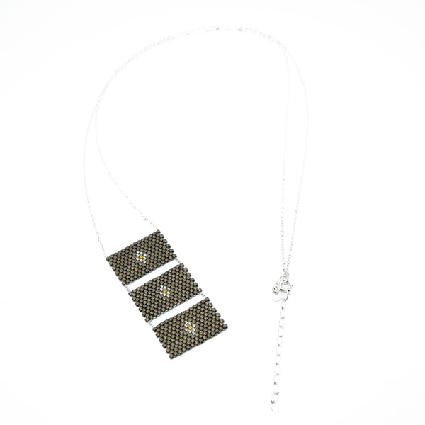 Venado Necklace - 3 rectangles