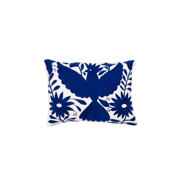 Ixteca OTO Cushion royal blue/cream