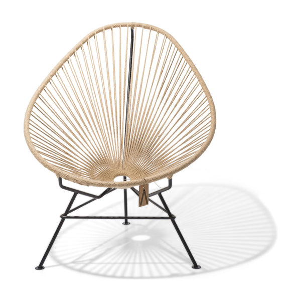 Ixteca design natural fiber acapulco chair handmade Hemp