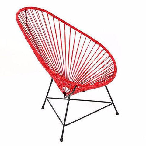 Ixteca design acapulco chair basic Red