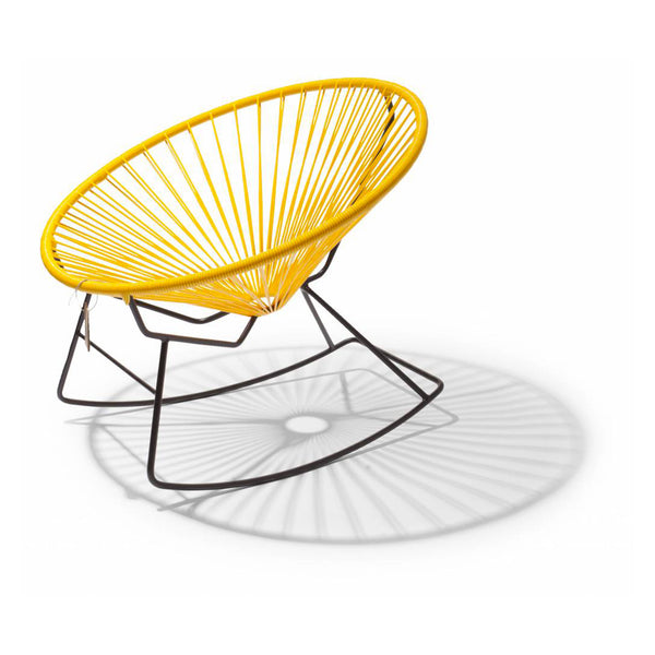 Ixteca design condesa rocking chair Yellow