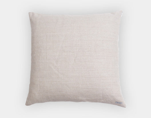 Ixteca LUA Cushion -lt blue/cream back-side