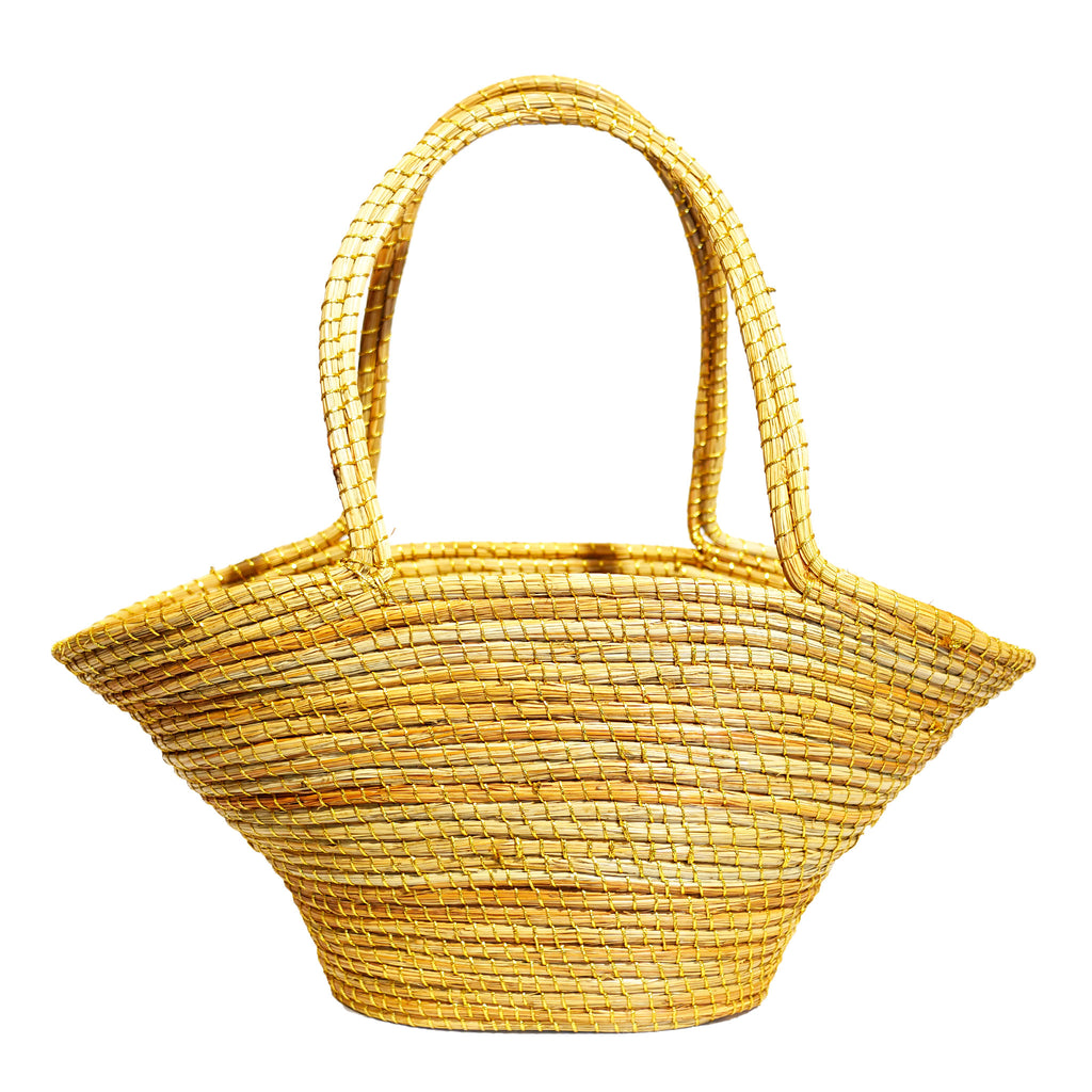 Golden thread pine basket