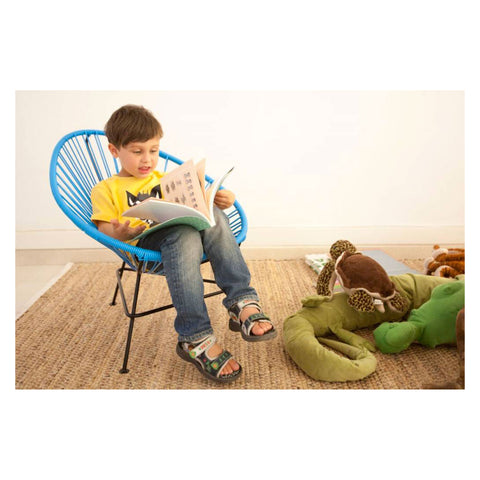 Ixteca design kids chair Blue