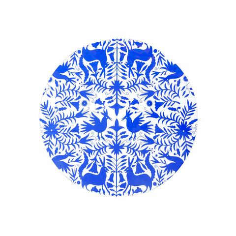 Otomi Blue tray