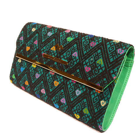 Handbag Clutch Macaria Green