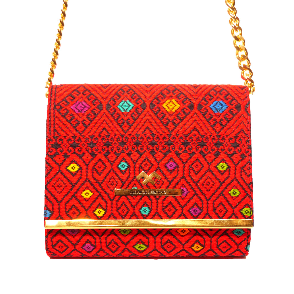 Handbag Flap Alicia Red