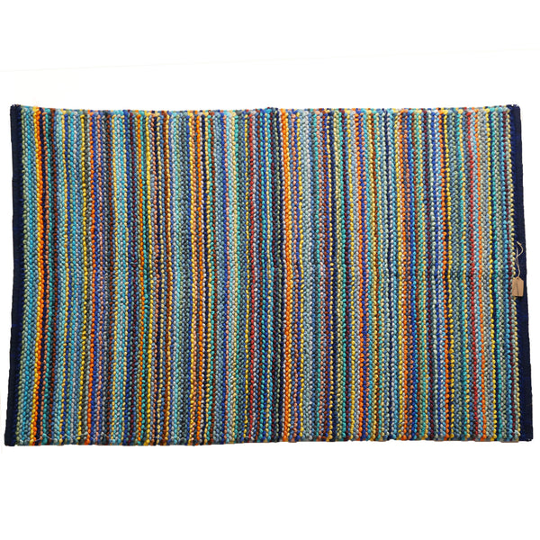 Stripes textured rug 120x180cm