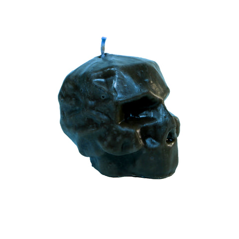 Geometric Skull Candle with vanilla scent