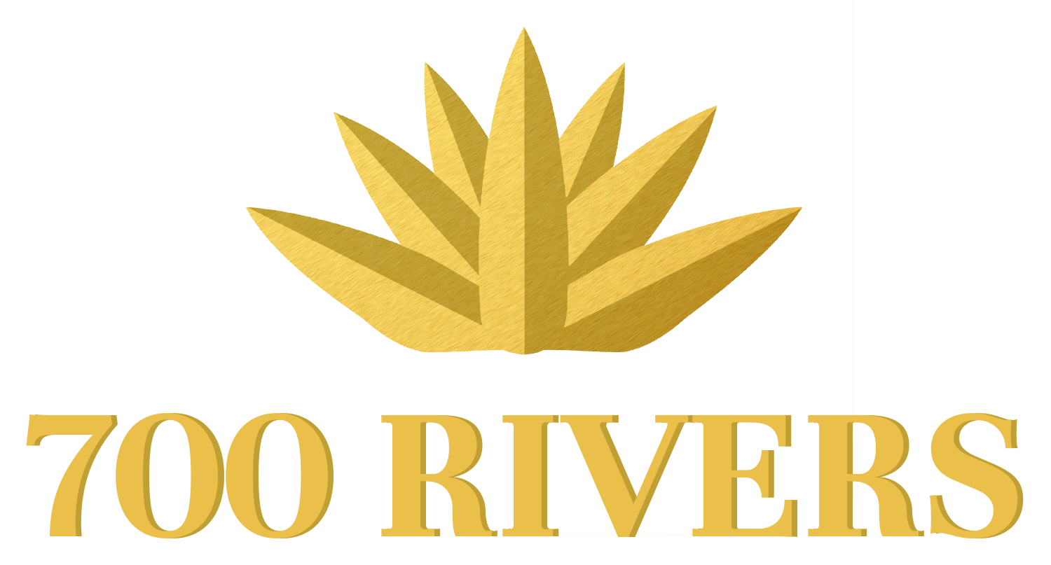 700 Rivers Vertical Logo
