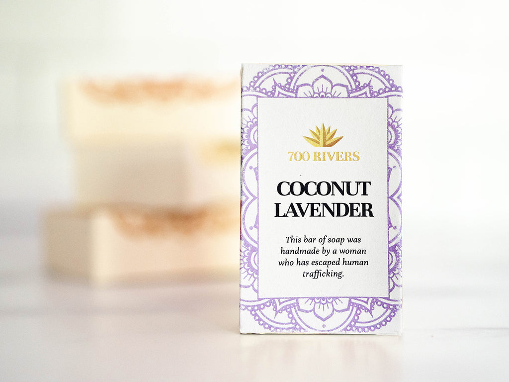 Coconut Lavender Soap