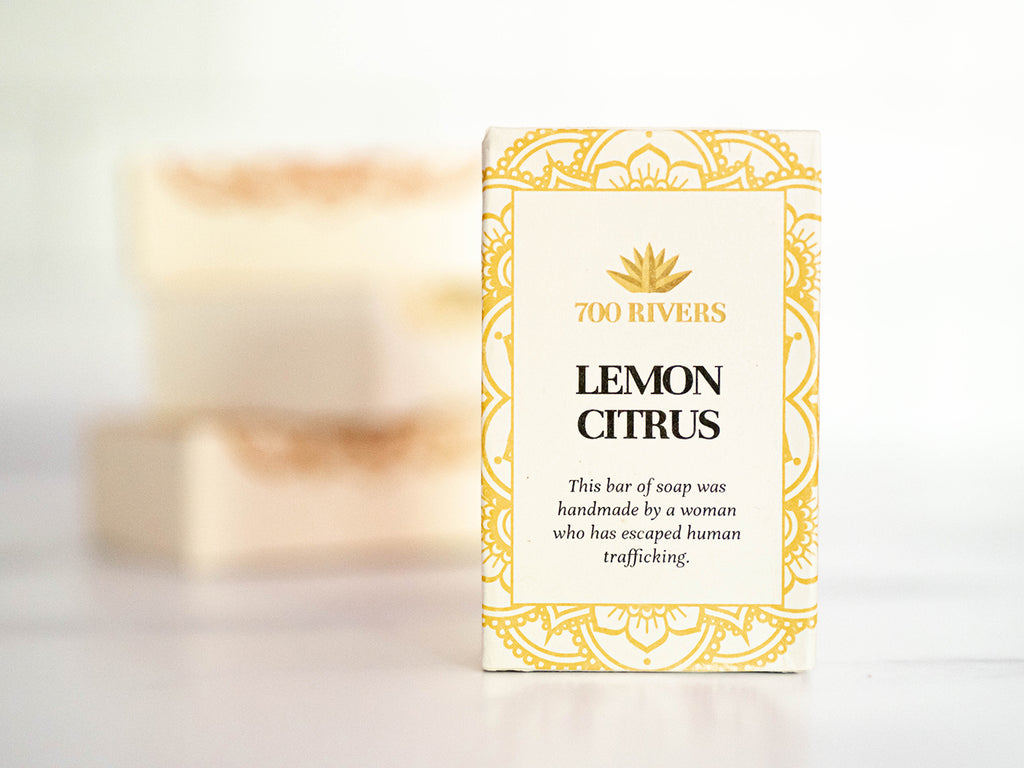Lemon Citrus Soap Bar