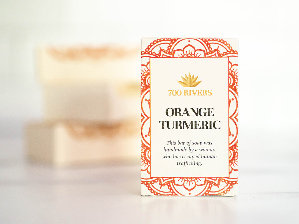 Orange Turmeric Soap Bar