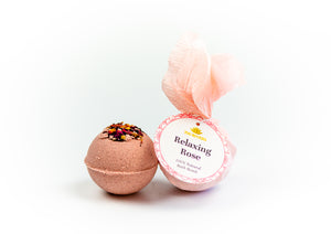 Relaxing Rose Bath Bomb