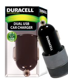Dual usb 2.1 amp car charger
