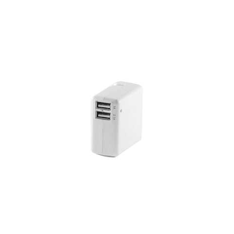 USB Wall Charger W/Dual Port (1A & 2.1A) (100 Case Count)
