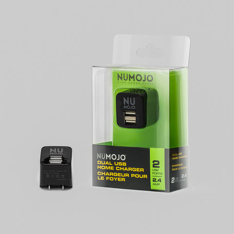 Numojo dual usb home charger