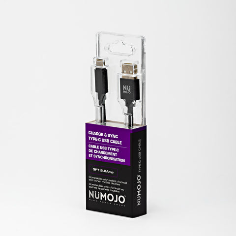 NUMOJO CHARGE & SYNC TYPE-C USB CABLE