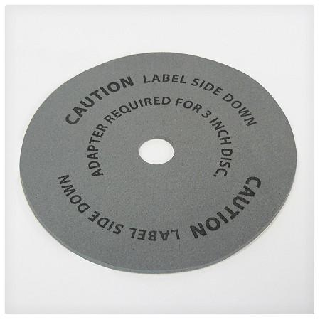 Grey Rubber Replacement Platter for VMI 3500 Only & VMI 2500