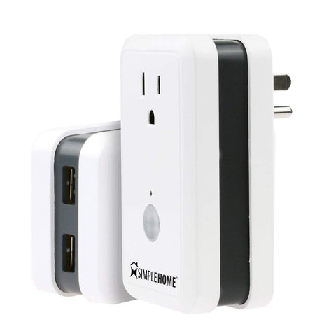 Xtreme Wifi Smart Plug W/2 USB & Energy Monitor