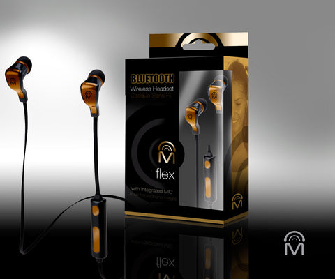 FLEX Bluetooth Earbuds w/Mic
