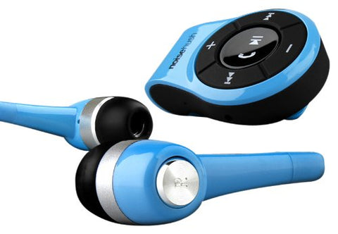 NoiseHush NS560 Clip-On Bluetooth Stereo Headset for All Tablet, Apple iPad/iPhone and Cell Phones