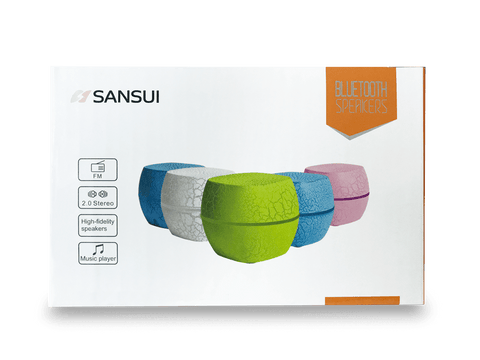 Sansui Bluetooth Speaker - Blue