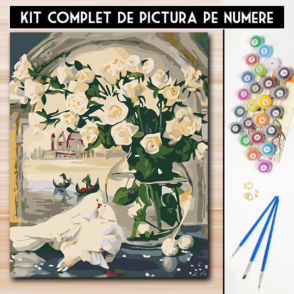 Kit Pictura Pe Numere - Imaculat
